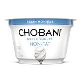 Chobani 0% Plain Greek Yogurt (5oz.)