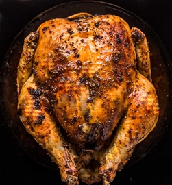 Free Range Roasted Chicken (Avg Weight of Whole Chicken 2-2  1/2LB)