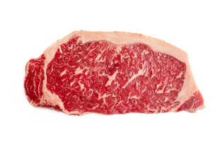 Prime Grass Fed Boneless New York Strips