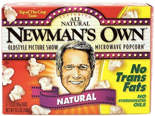 Newman's Own Natural Microwave Popcorn