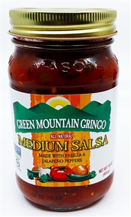 Green Mountain Gringo Salsa (Medium)