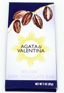 A&V Belgian Dark Chocolate Bar (3oz.)