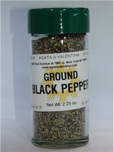 A&V Ground Black Pepper (2 oz.)