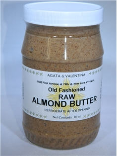 A&V Old Fashioned Raw Almond Butter (16 oz.)
