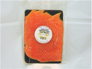 Certified Organic Smoked Irish Salmon 8Oz