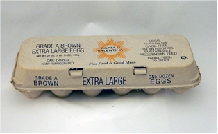 A&V Natural Cage Free Extra Large Brown Eggs