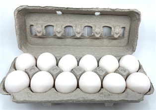 A&V Large Local Cage Free White Eggs (dozen)