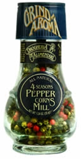 Drogheria Four Seasons Peppercorn W/ Mill (1.24 oz