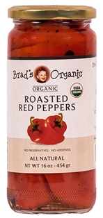 Brad's Org Roasted Red Peppers