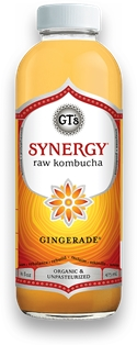GT Gingerade Organic & Raw Kombucha (16.2oz.)