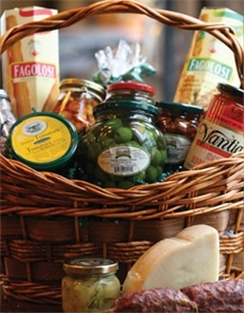 ANTIPASTO BASKET (PERISHABLE)(LARGE)