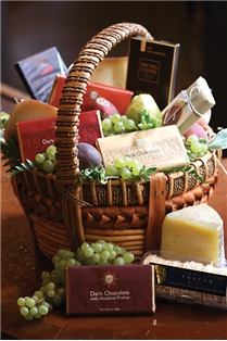 CHOCOLATE, FRUIT, CHEESE INDULGENCE (MEDIUM)