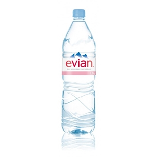 Evian Natural Spring Water (51oz.)