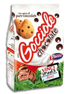 Gocciole Pavesi Chocolate Shortbread (17 oz.)