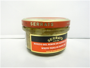 Serrats White Bonito Tuna In Oil