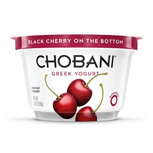 Chobani 0% Black Cherry Greek Yogurt (5oz.)