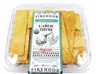 Firehook Crackers Garlic And Thyme